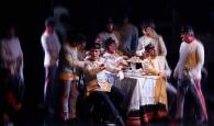 """PALERMO 19.01.2011 - LIRICA: TEATRO MASSIMO """"SENSO"""". IL TENENTE HANS (BRANDON JOVANOVICH). © STUDIO CAMERA/FRANCO LANNINO"""